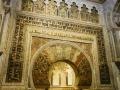 Der Mahib (Gebetsnische) zeigt die Gebetsrichtung an
