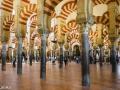 Die Mezquita ist eines der bedeutendsten Bauwerke islamischer Kultur. Die Fläche beträgt 23.000 m², 860 Marmorsäulen tragen jeweils übereinanderliegende Bögen.