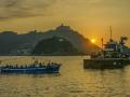 Sonnenuntergang in San Sebastian