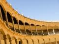 Die Stierkampfarena in Ronda. Bei dieser Architektur kann einem das Herz aufgehen (4)