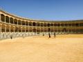 In Ronda steht die älteste Stierkampfarene Spaniens. Sie bietet Platz für 5000 Besucher. Besteht seit 1785
