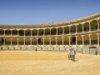 Die Stierkampfarena in Ronda. Bei dieser Architektur kann einem das Herz aufgehen (3)