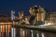 Guggenheim bei Nacht