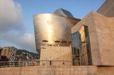 Guggenheimmuseum im Abendlicht