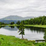 Der Schwarze See auf der Turracher Höhe